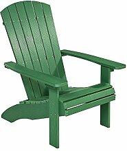 NEG Design Adirondack Stuhl Marcy (grün)