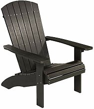 NEG Design Adirondack Stuhl Marcy (Lava-schwarz)