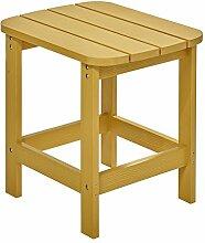 NEG Design Adirondack Tisch Marcy (gelb)