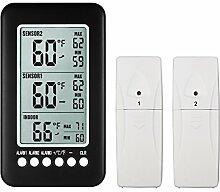 NeKan Wetterstation Thermometer Digital Innen