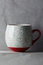 Neko Tasse mit Katzenmotiv - Red Motif