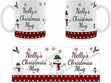 Nelly'Weihnachten Becher, Tasse, Keramik,
