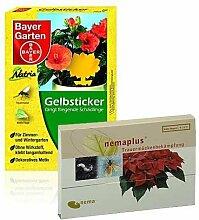 Nemaplus 25 + Bayer Gelbsticker