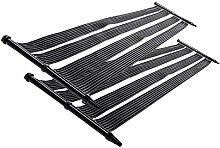 Nemaxx 2x SH6000 Solarheater 6 m - Solar-Poolheizung, Solarheizung, Schwimmbecken Heizmatte, Swimmingpool Sonnenkollektor, Warmwasseraufbereitung, Heizung für Pool