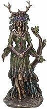 Nemesis Now Figur Dame des Waldes, 30 cm, Bronze,