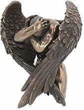Nemesis Now Figur Engel Retreat, Bronze,
