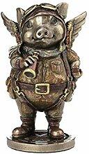 Nemesis Now Figur Porcus Machina, 13,5 cm, Bronze,