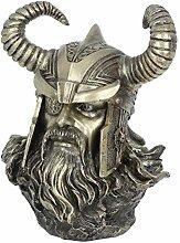 Nemesis Now Odin Büste, 27 cm, bronzefarben
