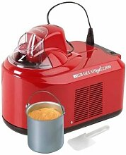 Nemox Gelato Chef 2200 Eismaschine Kompressor rossa