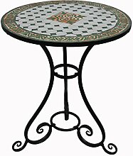 Nene-Home Amarone Mosaiktisch, H/Dia 71/60 cm,