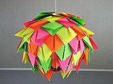 Neon Harlekin, Lampe Leuchte Lampenschirm