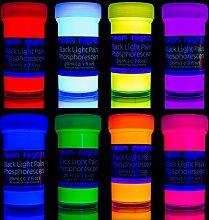 neon nights nachleuchtende Neon Farben |