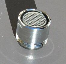 Neoperl M18 AG Luftsprudler Chrom, Perlstrahler,