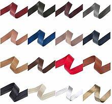 Neotrims 10 mm und 20 mm, aus PU Kunstleder Band
