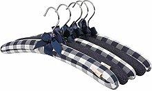NEOVIVA Holz-Kleiderbügel mit weicher
