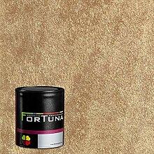 Nerk Fortuna Velluto Effektfarbe - Farbe Oro-Gold,