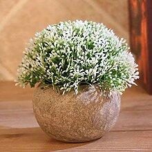Nerseki Künstliche Pflanzen Kunststoff Mini Fake