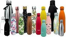 NERTHUS FIH 593 593 Doppelwandige Wärmflasche