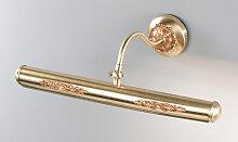 Nervilamp Bilderleuchte gold hell,Handgefertigt in
