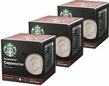 Nescafé Dolce Gusto Starbucks Cappuccino, 3er