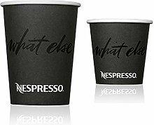 Nespresso Einweg Pappbecher Set (100Stück).