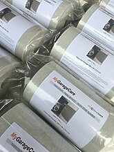 Nestchen für Wände Garage und Box Auto, 1x Selbstklebendes Panel–Größe 200x 20x 0,5cm Dicke–Farbe dunkelgrau RAL 7023aus Polyethylen–Schutz Autos Tür Auto, Puffer Stoßfänger