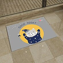 Nette Cartoon Toilette Badezimmer rutschfeste