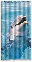 """Nette Delphine Wasserdicht Polyester Duschvorhang Badezimmer Dekorative - Die Unterwasserwelt 36""""""""x72"""""""" (90cm x 183cm)"""