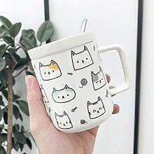 Nette Katze Keramische Schale, Kreative Mark