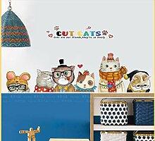Nette Kinderzimmer Dekorationen Wandaufkleber