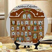 Nette Weihnachten Adventskalender dekorative