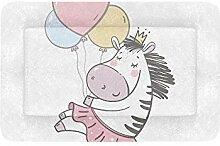 Nette Zebra-Baby-Kunst-lustige Extra große