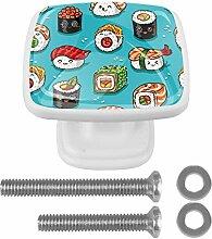 Netter Cartoon Sushi Schubladenknopf für Home