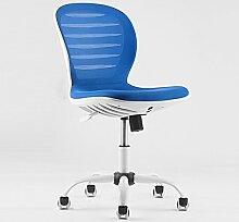 Netto Riemenscheibe Haushalt Computer Stuhl Mobiler Armlehnestuhl Einstellbare Rückenlehne Bürostuhl Personal Stuhl ( Farbe : 3 )