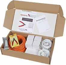 Network Media Supplies N10001.V1-50  Haus /- Büro  Cat.6 Installationsset 1+