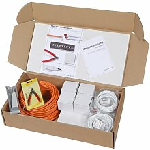 Network Media Supplies N10002.V1-100 Haus /- Büro  Cat.6 Installationsset 2+