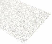 Netz Tischläufer Tischdecke Platzset Tischset Tischdeko, Größe und Farbe wählbar (Tischläufer 45 x 145 cm Natur)