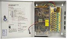 Netzteil CCTV PNI STC15A in Metallbox 12V-15A 9