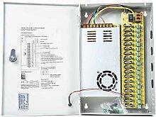 Netzteil CCTV PNI STC30A in Metallbox 12V-30A 18