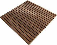 [neu.haus] Badematte 55x55cm aus Teak Holz
