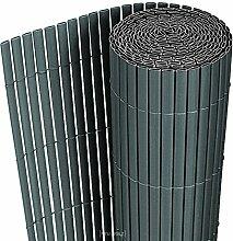 [neu.haus] PVC Sichtschutzmatte (90x300cm) (grau)