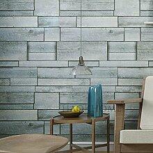 Neu Imitation Woody Pastoral Wallpaper Home Decor Hintergrund , gray white