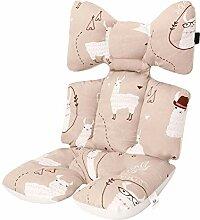 Bequem rainnao Sitzauflage Kinderwagen Universal Baby Sitzauflage Buggy Sommer Atmungsaktiv Weich