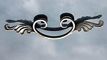NEU! Ornament Schmiedeeisen C-Bogen mit Zierelement 80x325 mm #951