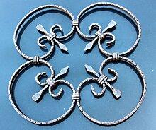 NEU! Schmiedeeisen Ornament Gitter Fenstergitter Stahl Eisen geschmiedet #552