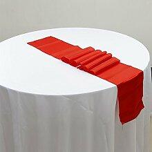 NEU Tischläufer, Bankett Hochzeit Weihnachten Party-Tischdecke mit 16Farben Free Size #1