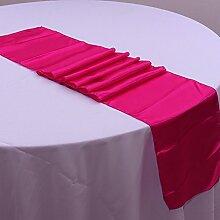 NEU Tischläufer, Bankett Hochzeit Weihnachten Party-Tischdecke mit 16Farben Free Size #8