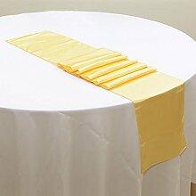 NEU Tischläufer, Bankett Hochzeit Weihnachten Party-Tischdecke mit 16Farben Free Size #14