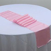 NEU Tischläufer, Bankett Hochzeit Weihnachten Party-Tischdecke mit 16Farben Free Size #9