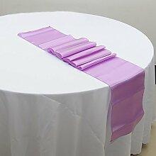 NEU Tischläufer, Bankett Hochzeit Weihnachten Party-Tischdecke mit 16Farben Free Size #10
